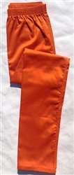 Inmate pants, solid color