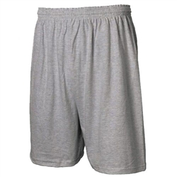"Jersey knit shorts, 6"" Inseam"