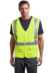 Breakaway Mesh Safety Vest, ANSI Class 2