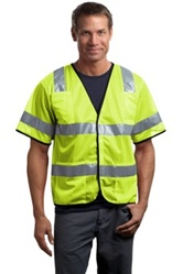 Mesh Safety Vest, Economy, ANSI/ISEA 107-2004 certified Class 3
