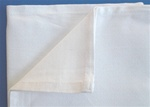 Napkins, cotton, white