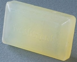 Clear soap (clear wrap)