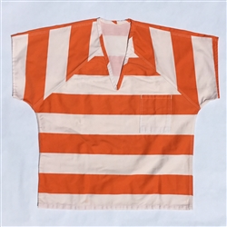 Inmate shirts, color stripes