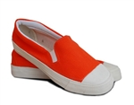Canvas Slip-on Shoes with Toe Cap